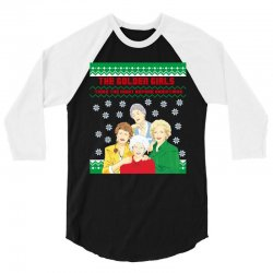 golden girls  may all your christmas 3/4 Sleeve Shirt | Artistshot