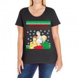 golden girls  may all your christmas Ladies Curvy T-Shirt | Artistshot