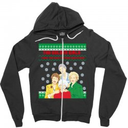 golden girls  may all your christmas Zipper Hoodie | Artistshot