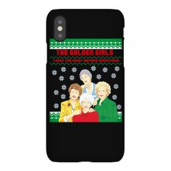 golden girls  may all your christmas iPhoneX | Artistshot