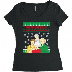 golden girls  may all your christmas Women's Triblend Scoop T-shirt | Artistshot