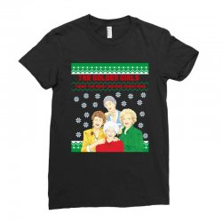 golden girls  may all your christmas Ladies Fitted T-Shirt | Artistshot