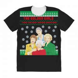 golden girls  may all your christmas All Over Women's T-shirt | Artistshot
