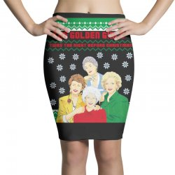 golden girls  may all your christmas Pencil Skirts | Artistshot