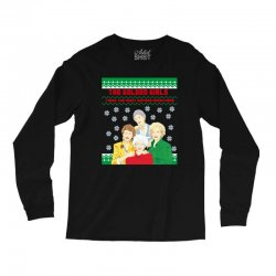 golden girls  may all your christmas Long Sleeve Shirts | Artistshot