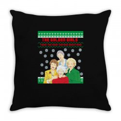 golden girls  may all your christmas Throw Pillow | Artistshot