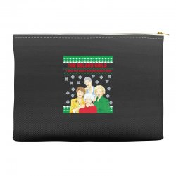 golden girls  may all your christmas Accessory Pouches | Artistshot