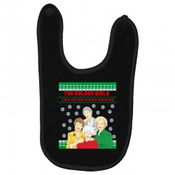 golden girls  may all your christmas Baby Bibs | Artistshot