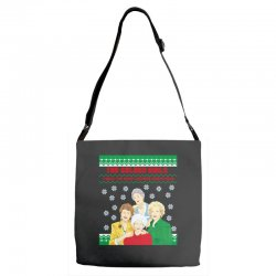 golden girls  may all your christmas Adjustable Strap Totes | Artistshot