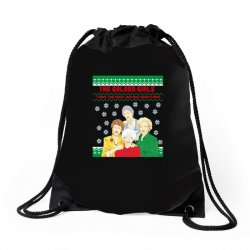 golden girls  may all your christmas Drawstring Bags | Artistshot