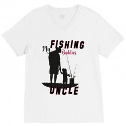 fishing uncle V-Neck Tee | Artistshot