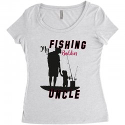 fishing uncle Women's Triblend Scoop T-shirt | Artistshot