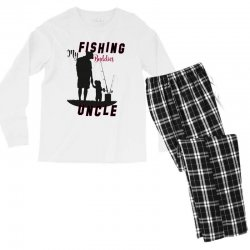 fishing uncle Men's Long Sleeve Pajama Set | Artistshot