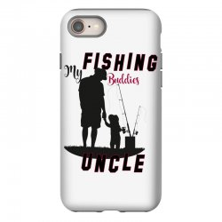 fishing uncle iPhone 8 Case | Artistshot