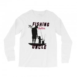 fishing uncle Long Sleeve Shirts | Artistshot