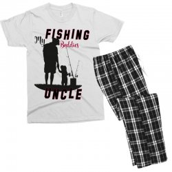 fishing uncle Men's T-shirt Pajama Set | Artistshot
