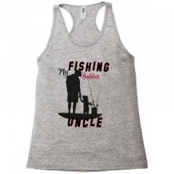fishing uncle Racerback Tank | Artistshot