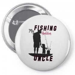 fishing uncle Pin-back button | Artistshot