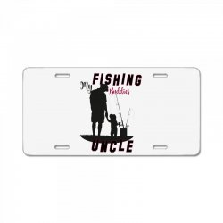 fishing uncle License Plate | Artistshot