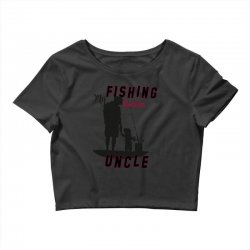 fishing uncle Crop Top | Artistshot