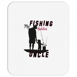 fishing uncle Mousepad | Artistshot