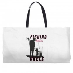 fishing uncle Weekender Totes | Artistshot