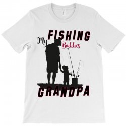 fishing grandpa T-Shirt | Artistshot