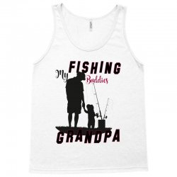 fishing grandpa Tank Top | Artistshot