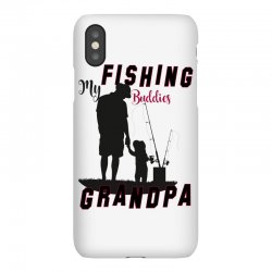 fishing grandpa iPhoneX Case | Artistshot