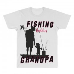 fishing grandpa All Over Men's T-shirt | Artistshot