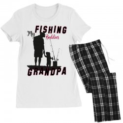 fishing grandpa Women's Pajamas Set | Artistshot