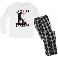 fishing grandpa Men's Long Sleeve Pajama Set | Artistshot