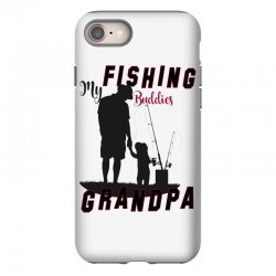 fishing grandpa iPhone 8 Case | Artistshot