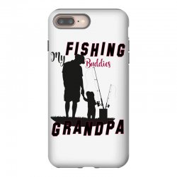 fishing grandpa iPhone 8 Plus Case | Artistshot