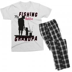 fishing grandpa Men's T-shirt Pajama Set | Artistshot