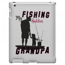 fishing grandpa iPad 3 and 4 Case | Artistshot