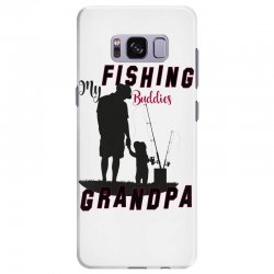 fishing grandpa Samsung Galaxy S8 Plus Case | Artistshot