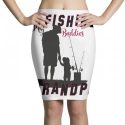 fishing grandpa Pencil Skirts | Artistshot