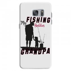 fishing grandpa Samsung Galaxy S7 Case | Artistshot