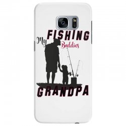fishing grandpa Samsung Galaxy S7 Edge Case | Artistshot