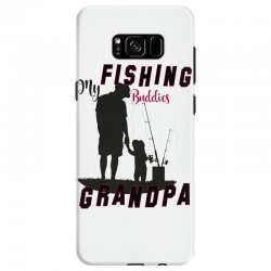 fishing grandpa Samsung Galaxy S8 Case | Artistshot