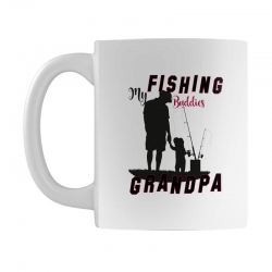 fishing grandpa Mug | Artistshot