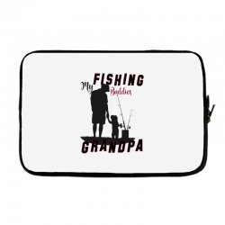 fishing grandpa Laptop sleeve | Artistshot