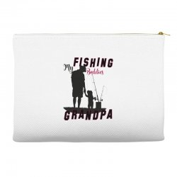 fishing grandpa Accessory Pouches | Artistshot