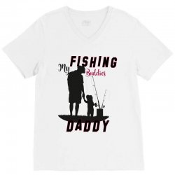 fishing daddy V-Neck Tee | Artistshot