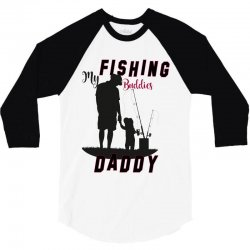 fishing daddy 3/4 Sleeve Shirt | Artistshot