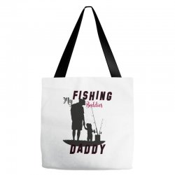 fishing daddy Tote Bags | Artistshot