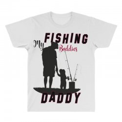 fishing daddy All Over Men's T-shirt | Artistshot