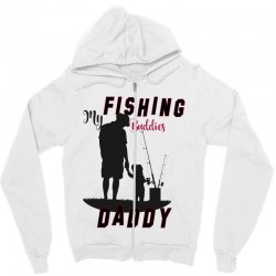 fishing daddy Zipper Hoodie | Artistshot