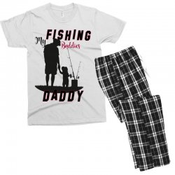 fishing daddy Men's T-shirt Pajama Set | Artistshot